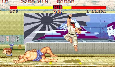 Retro-test skymac.org : Street Fighter 2
