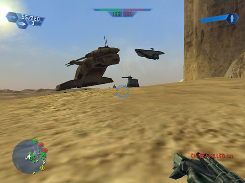 Test skymac : Star Wars Battlefront