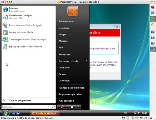 Article skymac : Parallels Desktop, un émulateur Windows 'NextGen'