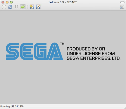 Tutoriel skymac : lxdream - Un émulateur DreamCast