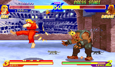 Retro-test skymac.org : Street Fighter Alpha
