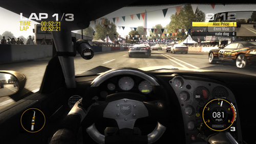Test skymac : Race Driver : Grid