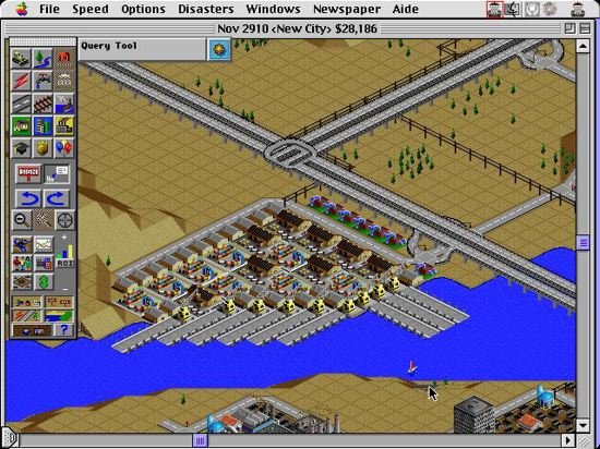 Retro-test skymac : Sim City 2000