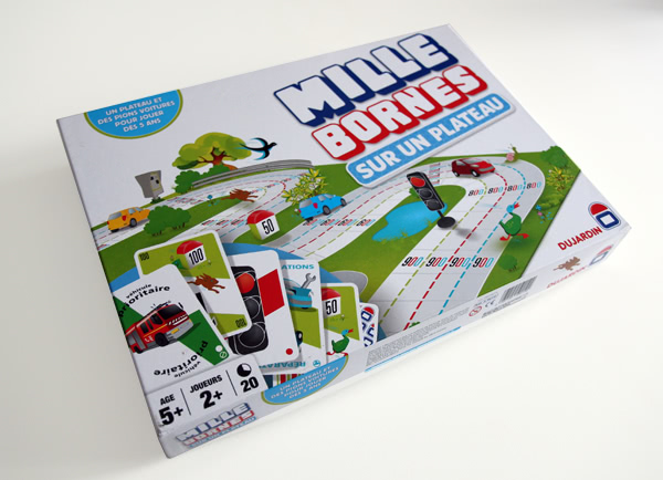 Article skymac : Mille Bornes - Edition plateau