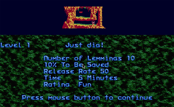 Retro-test : Lemmings
