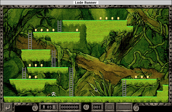 Retro-test skymac : Lode Runner - 256 couleurs