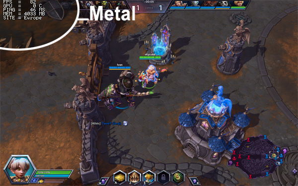 Article skymac : Les bienfaits de Metal avec Heroes of the Storm