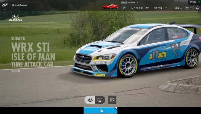 Subaru WRX STI Isle of Man Time Attack Car '16