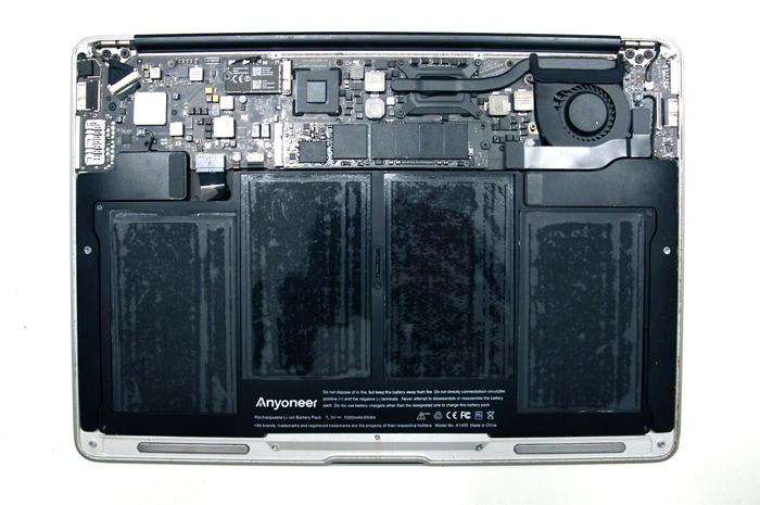 nouveau produit b58a4 67abb Changer la batterie d'un MacBook Air 13' - skymac.org