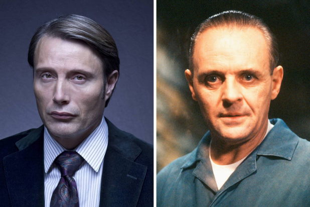 Hannibal Lecter - Mads Mikkelsen - Anthony Hopkins