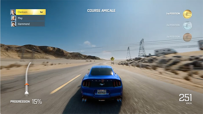 The Grand Tour Game : Ford Mustang