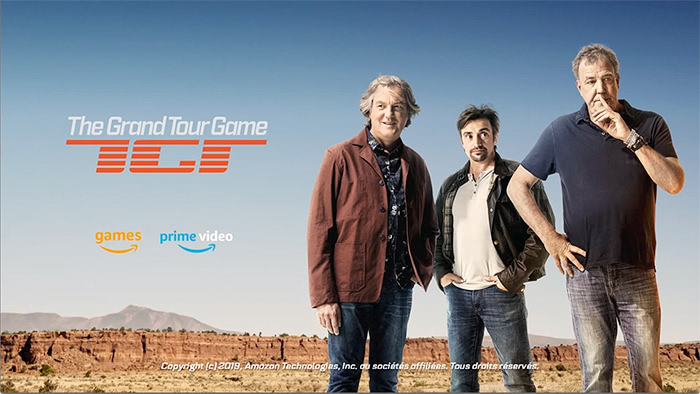 The Grand Tour Game : Ouverture