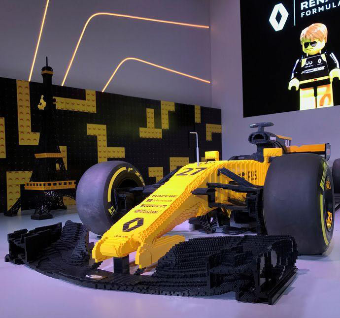 LEGO : Renault F1 R.S. 17