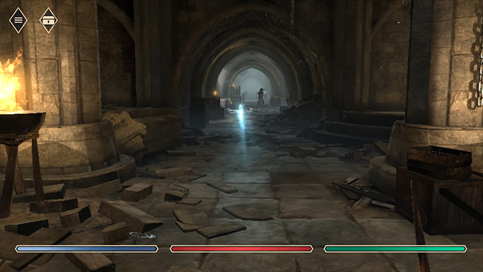 The Elder Scrolls: Blades - Un donjon