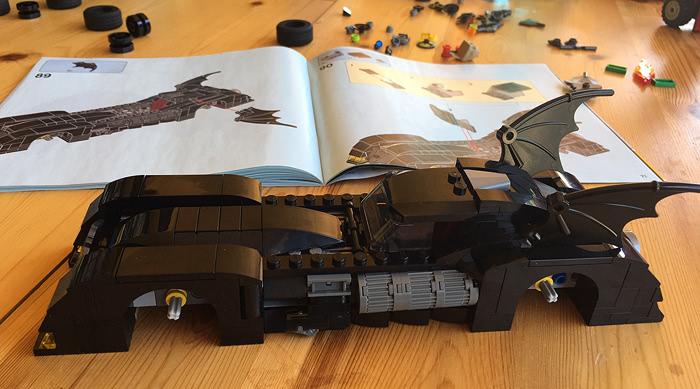LEGO 76119 - Batmobile: La poursuite du Joker - Etape 4