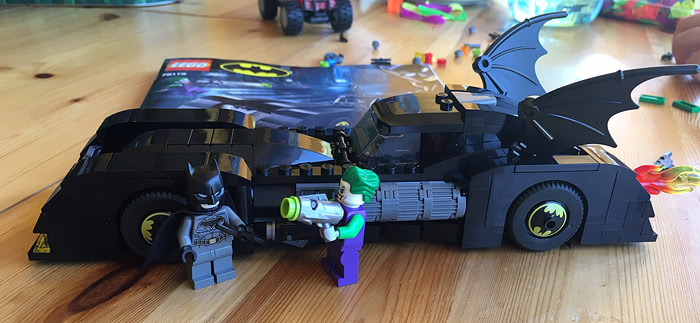 LEGO 76119 - Batmobile: La poursuite du Joker