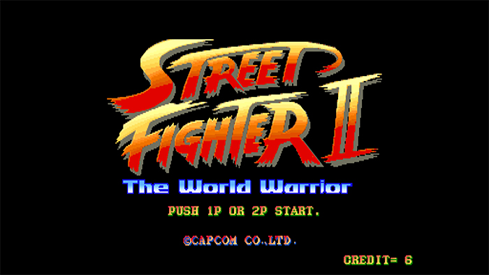 Street Fighter 2 sur MAME