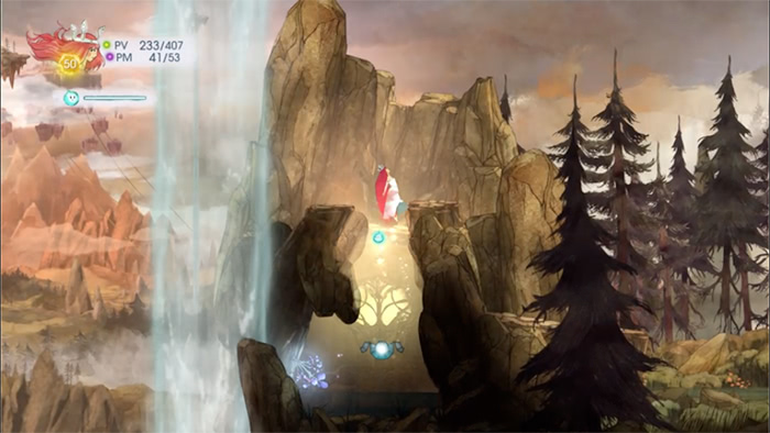 Child of Light : Exploration du niveau des moulins à vent