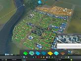 Test : Cities Skylines - Vue en mode zonage
