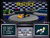 Retro-test : Virtua Racing - Sélection Go-Kart sur Virtua Racing (Saturn)