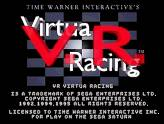Retro-test : Virtua Racing - Ouverture de Virtua Racing sur Saturn