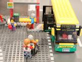 LEGO City - La gare routière - Face avant du bus