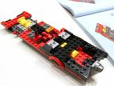 LEGO - Batman Classic - Construction de la batmobile - Phase 2
