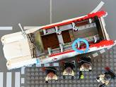 LEGO Ghostbusters - Ecto-1 - Dessus