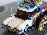 LEGO Ghostbusters - Ecto-1 - Très gros plan
